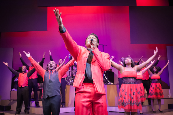 The cast of THE JACKIE WILSON STORY