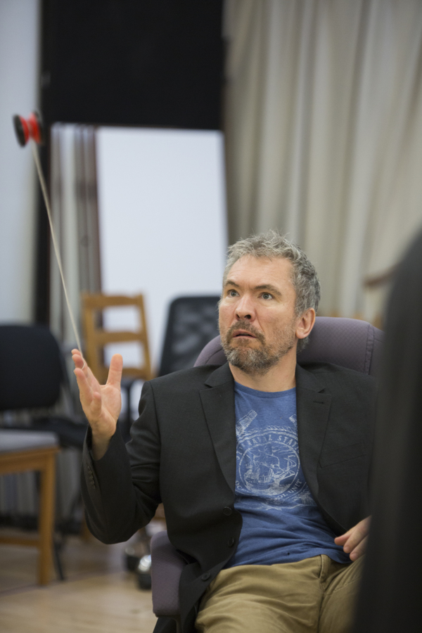 Photo Flash: In Rehearsal With Hampstead Theatre's LABYRINTH