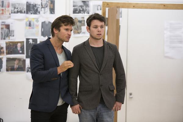 Tom Weston-Jones and Sean Delaney