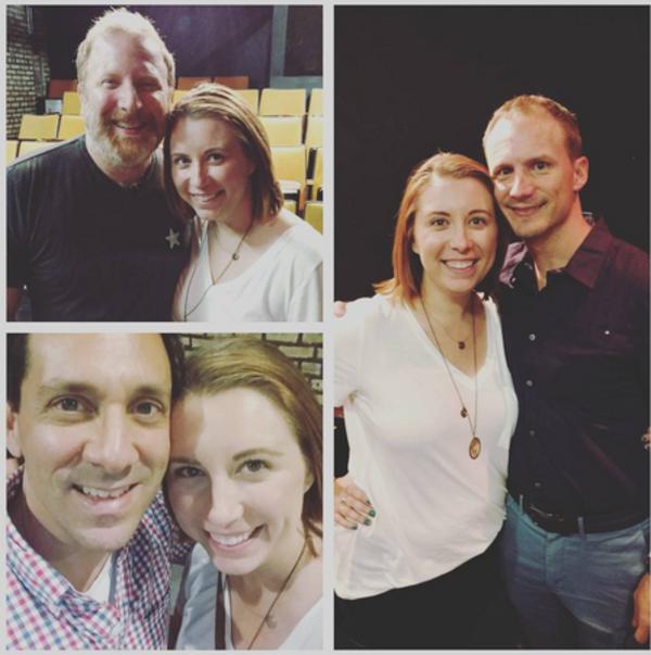 Kristi Szczepanek, Hunter Bell, Jeff Bowen and Michael Berresse
