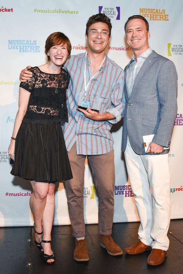 Rachel Sussman, Elliah Heifetz and Dan Markley Photo