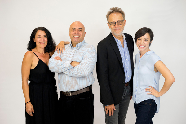 Roxanne Carrasco, Herbert Siguenza, Mark Pinter, Jennifer Paredes.