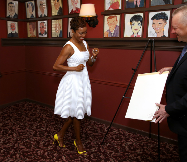 Heather Headley and Max Klimavicius