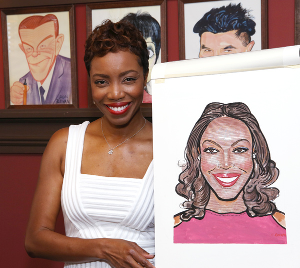 Photo Coverage: THE COLOR PURPLE's Heather Headley Joins the Sardi's Wall of Fame!