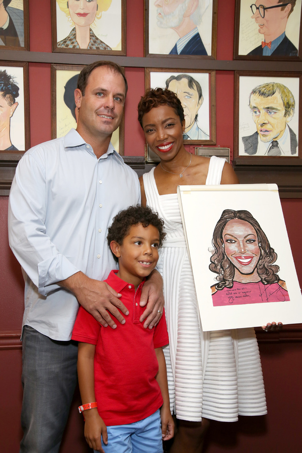 Healther Headley with her husband Brian Musso and son John David