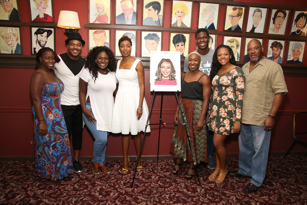 Bre Jackson, Grasan Kingsberry, Danielle Brooks, Heather Headley, Cynthia Erivo, Kyle Scatliffe, Phoenix Best and Lawrence Clayton