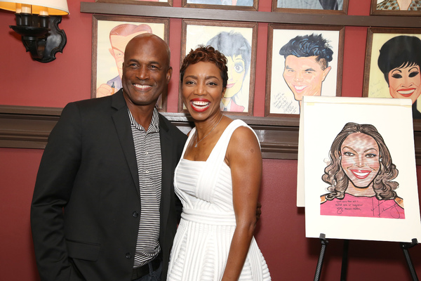 Kenny Leon and Heather Headley