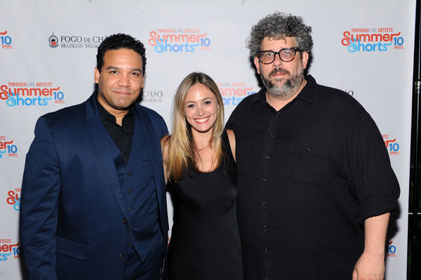 Frank Harts, Elizabeth Masucci and Neil LaBute Photo