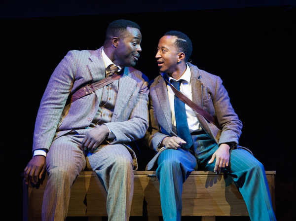 Photo Flash: First Look at Mark G Meadows, Cleavant Derricks and More in JELLY'S LAST JAM at Signature Theatre