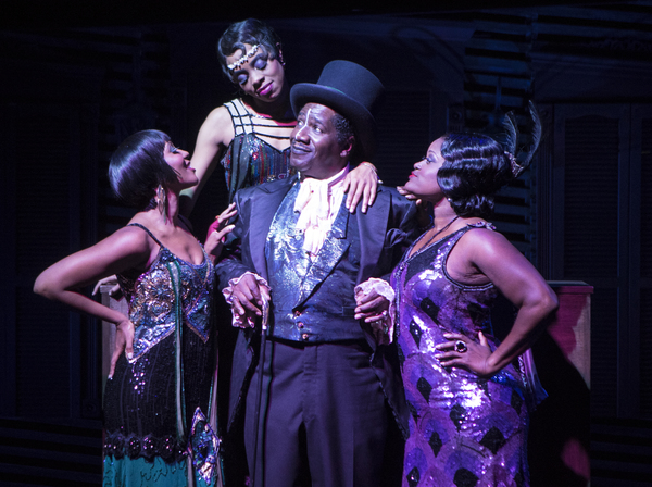 Cleavant Derricks (Chimney Man) with Kara-Tameika Watkins, Eben K. Logan and Nova Y. Paton