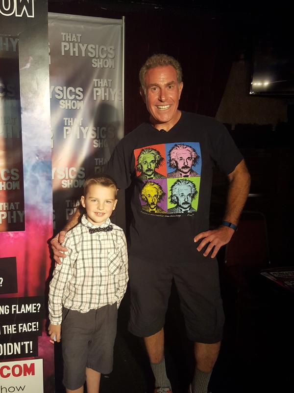 Dave Maiullo with Iain Armitage