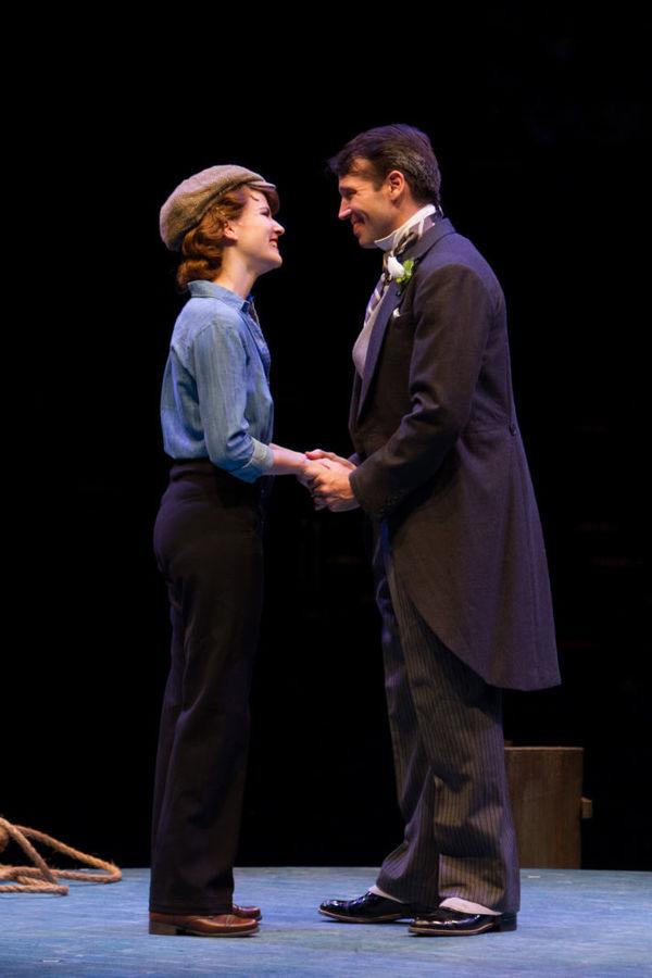Kristie Kerwin and Matt Loehr