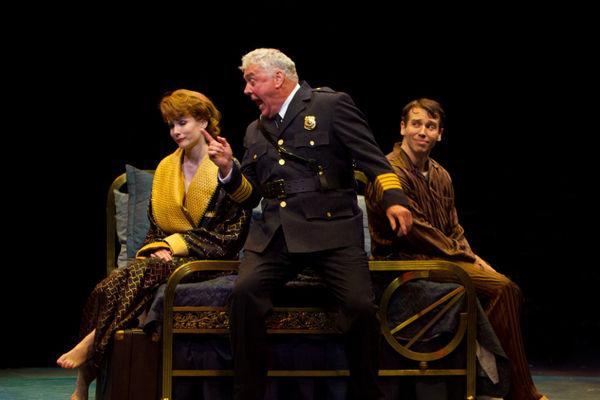 Kristie Kerwin, Rich Hebert and Matt Loehr  Photo