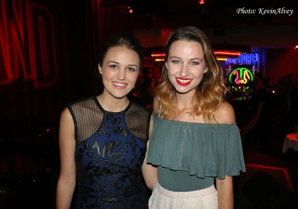 Maddie Shea Baldwin and Stephanie Turci