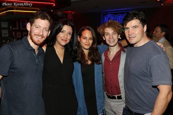 Sawyer Spielberg, Megan Minutillo, Raye Levine, Nat Zegree and Seamus