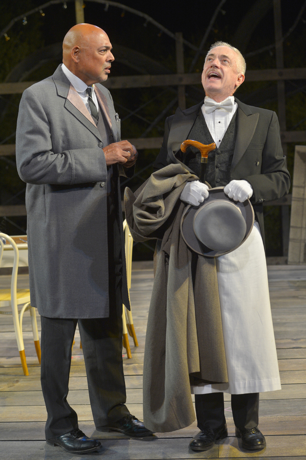 (L to R) Michael Torres as Fergus Crampton and Danny Scheie as Walter in California S Photo