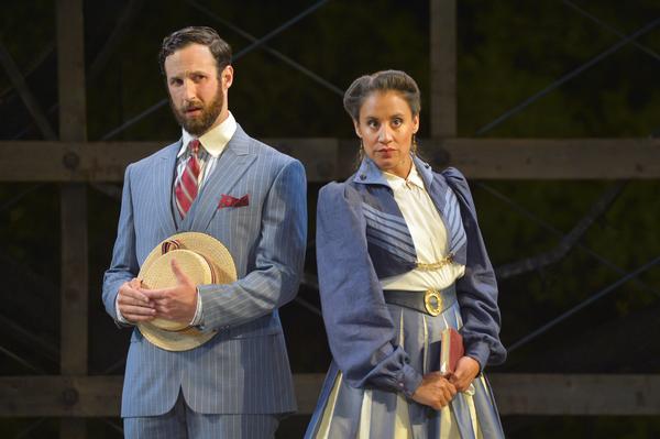 (L to R) Matthew Baldiga as Valentine and Sabina Zuniga Varela as Gloria in Californi Photo