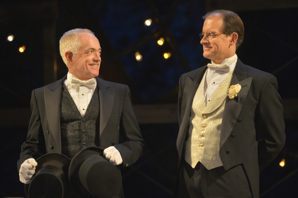 (L to R) Danny Scheie as Walter and Anthony Fusco as Finch McComas in California Shakespeare Theater''s production of Shaw''s YOU NEVER CAN TELL, directed by Lisa Peterson; photo by Kevin Berne.