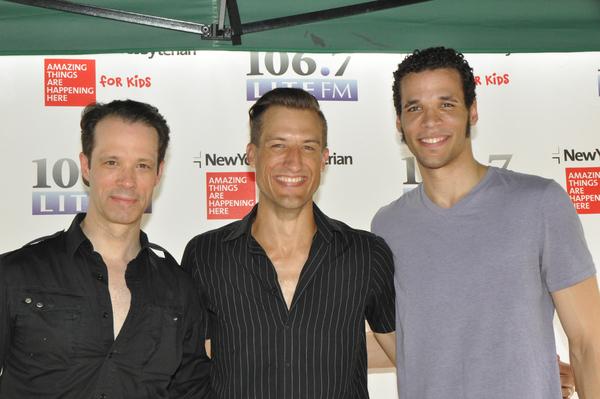 Laird Mackintosh, Bryce Ryness and Jordan Donica