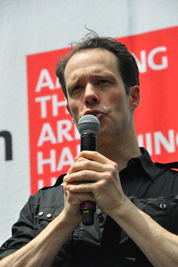 Photo Coverage: Broadway in Bryant Park Presents Casts of PHANTOM OF THE OPERA, SOMETHING ROTTEN AND MORE!