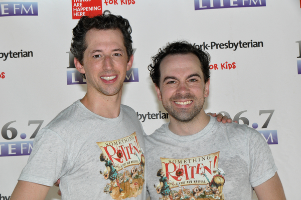 Josh Grisetti and Rob McClure