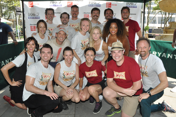 The Cast of Something Rotten-Catherine Brunell, Will Chase, Josh Grisetti, Leslie Kri Photo