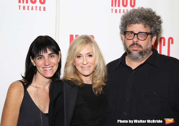 Leigh Silverman, Judith Light and Neil LaBute
