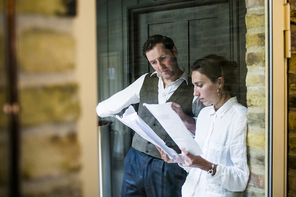 Photo Flash: In Rehearsal With Sadie Frost For BRITTEN IN BROOKLYN