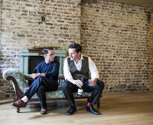 Ryan Sampson (Benjamin Britten), John Hollingworth (WH Auden)