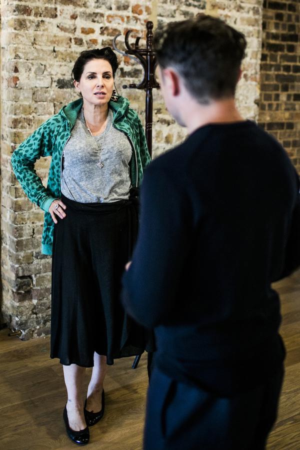 Sadie Frost (Gypsy Rose Lee), Ryan Sampson (Benjamin Britten)