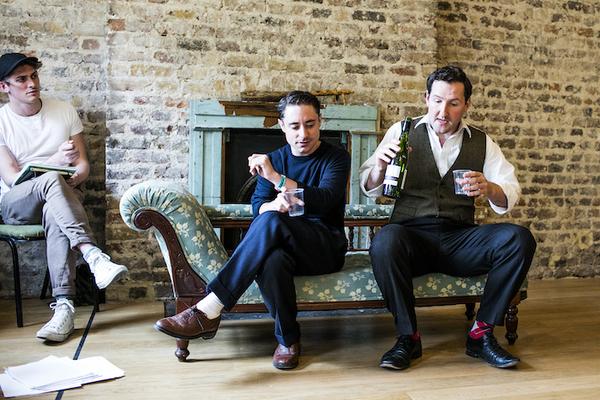 David Burnett (John Dunne), Ryan Sampson (Benjamin Britten), John Hollingworth (WH Auden)