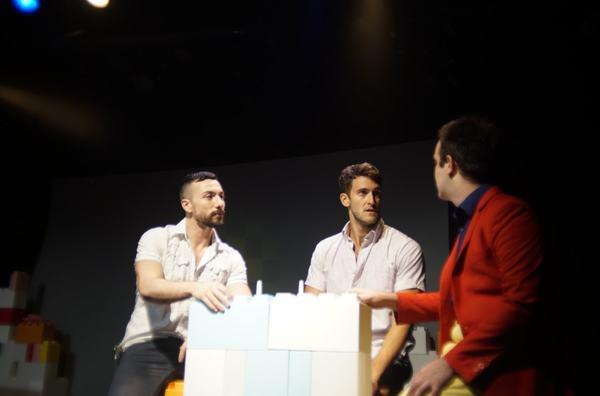 Judah Frank, Adam Roberts and Sean Peter Drohan