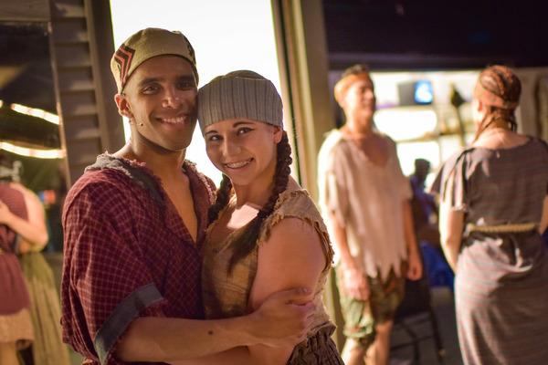 Photo Flash: Go Backstage with AIDA at The Muny