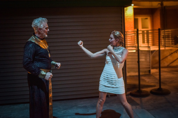 Patrick Cassidy and Taylor Louderman