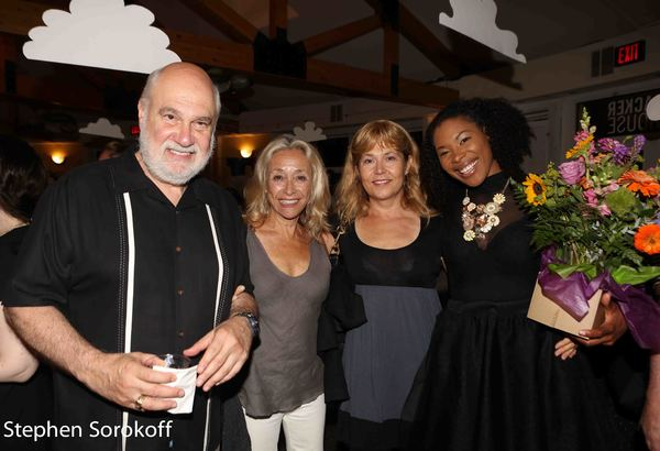 Michael Fuchs, Eda Sorokoff, Elizabeth Aspenlieder, Cloteal L. Horne Photo