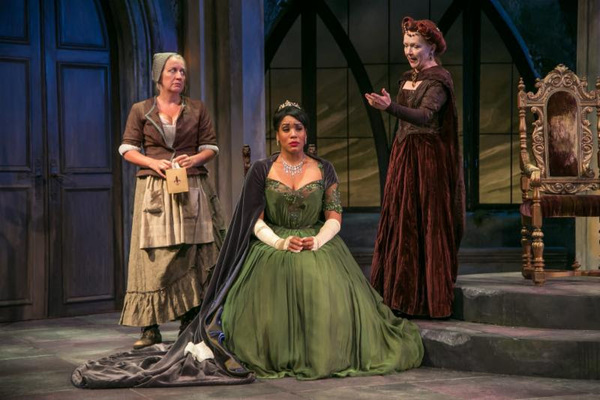 Kristie Dale Sanders, Jesmille Darbouze, and Marion Adler. Photo
