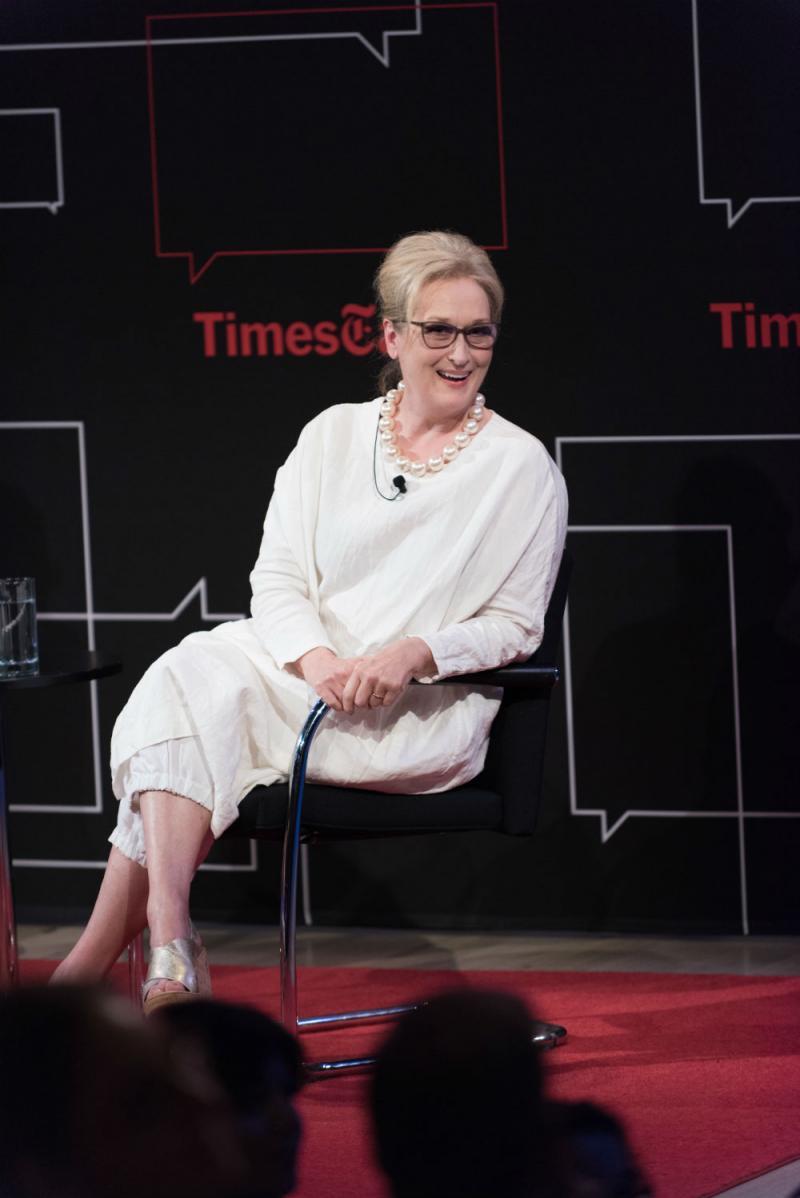 Photo & Video: Meryl Streep Talks FLORENCE FOSTER JENKINS & More in 'TimesTalks'