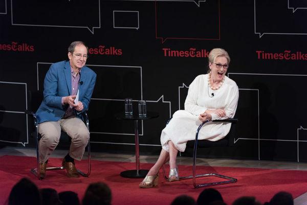 Anthony Tommasini, Meryl Streep