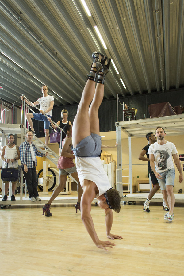 Photo Flash: In Rehearsal with the New Cast of KINKY BOOTS in the West End