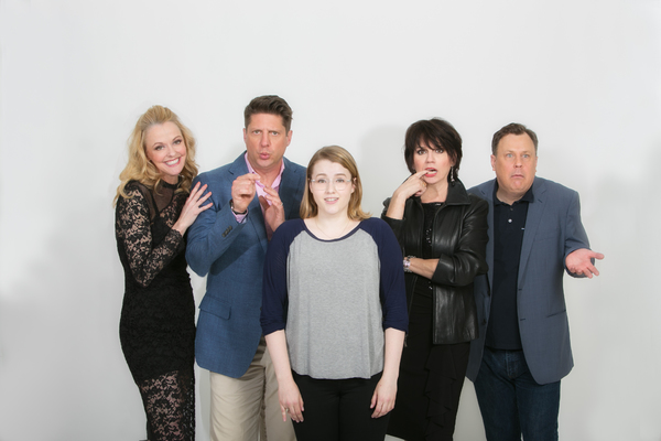 Photo Flash: First Look at Brooks Ashmanskas, Beth Leavel, Christopher Sieber and More in Rehearsals for the Pre-Broadway World Premiere of THE PROM
