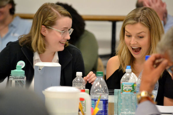 Caitlin Kinnunen and Anna Grace Barlow