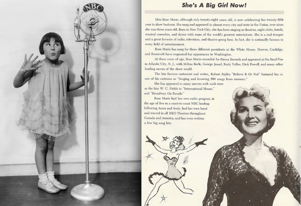 Photo Flash: Happy Birthday to Star of Stage & Screen - Rose Marie!