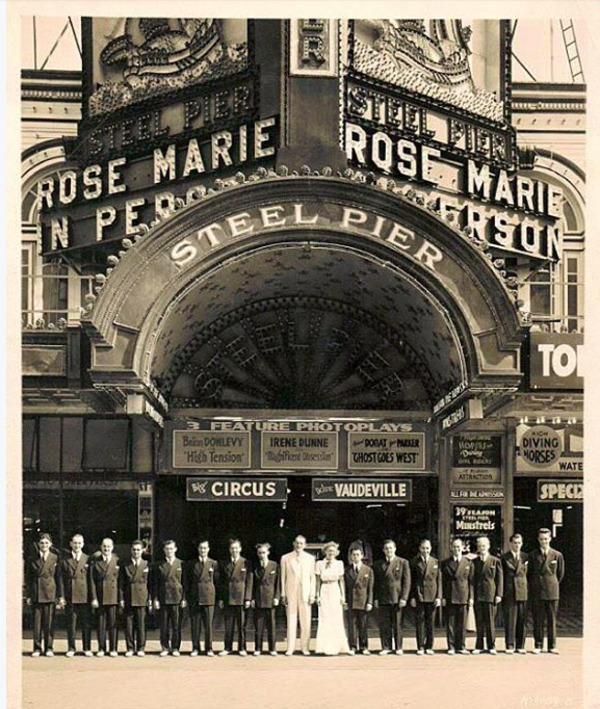Baby Rose Marie Theatre Marque