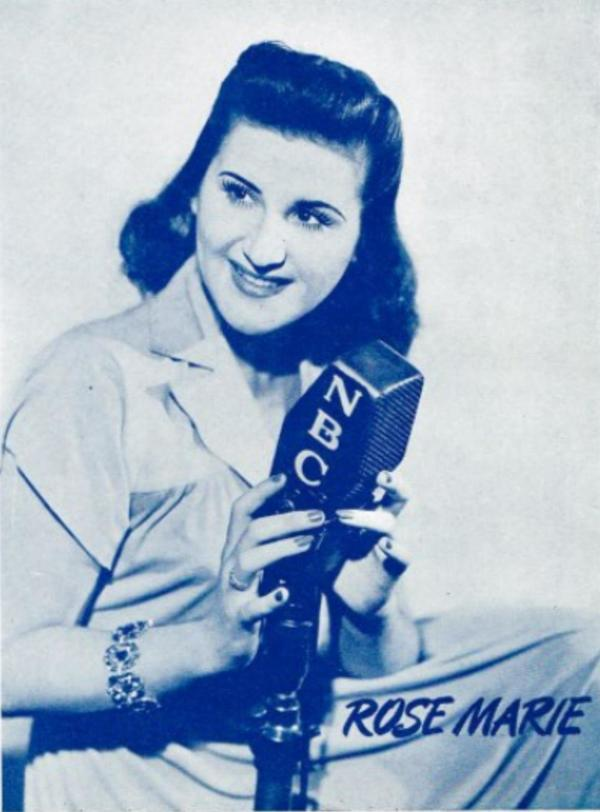 Rose Marie on NBC Radio