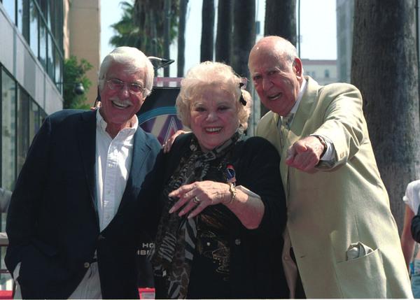 Dick Van Dyke, Rose Marie and Carol Reiner
