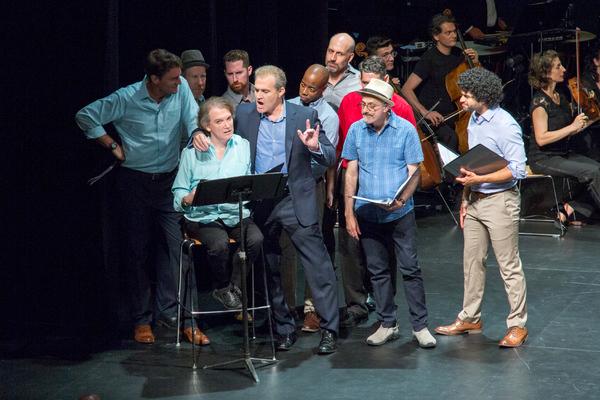 Patrick Boll, D.C. Anderson, Charles Busch, Tim Dolan, Marc Kudisch, Ivory McKay, Richard Costa, Doug Shapiro, David Greenspan, Michael DeSouza