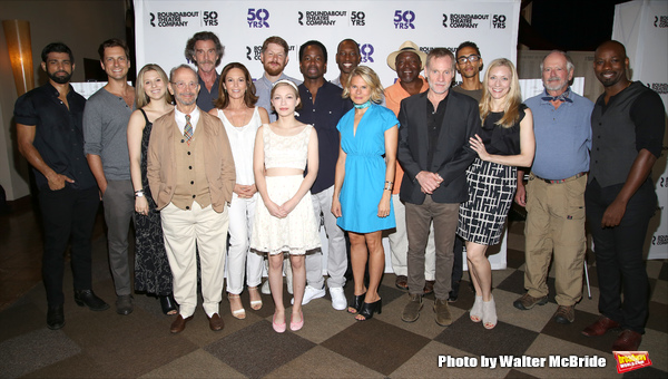 Joel Grey, John Glover, Diane Lane, Tavi Gevinson, Harold Perrineau, Celia Keenan-Bolger, Chuck Cooper and Kyle Beltran with the cast