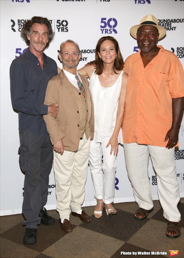 John Glover, Joel Grey, Diane Lane and Chuck Cooper