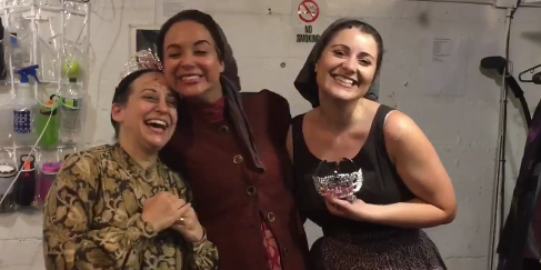 VIDEO: FIDDLER ON THE ROOF's Vacationing Alexandra Silber Holds a Tzeitel Tzeremony For Her Understudies