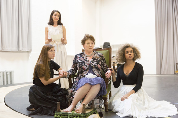 Mari Izzard, Francesca Bailey, Felicity Montagu and Hollie Edwin  Photo